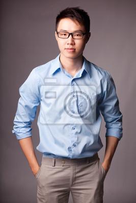 Handsome confident man
