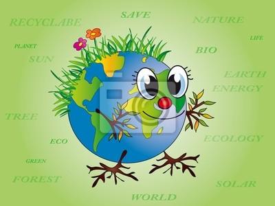 happy globe