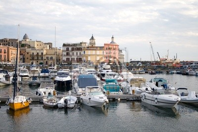 Harbour in southern Italy