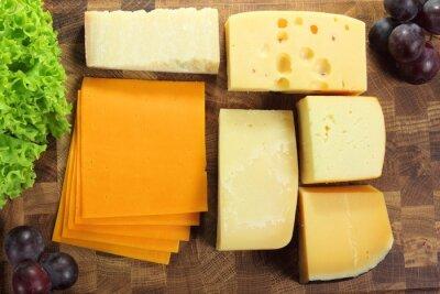 Hard cheeses.