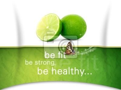 Wall mural Health
