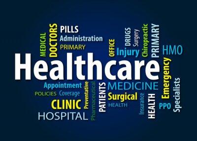 Wall mural Healthcare