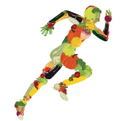 Wall mural healthy lifestyle