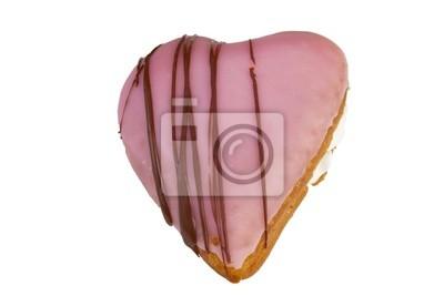 Heart shape donut