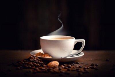 Wall mural heißer, frischer Kaffee