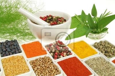 Wall mural Herbs and spices