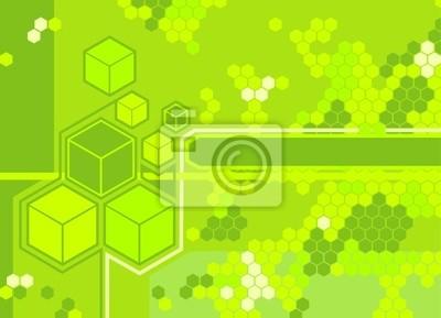 hexagon background