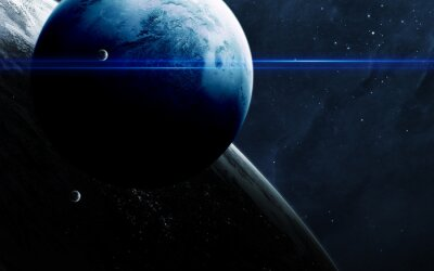 High quality science fiction cosmos