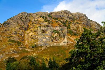 Wall mural Hill