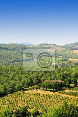 Wall mural Hills Of Tuscany