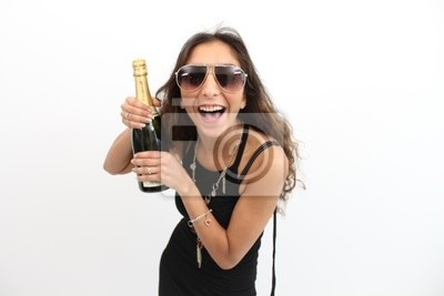 I have champagne!