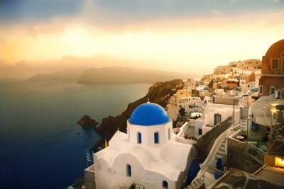 Ia church on Santorini