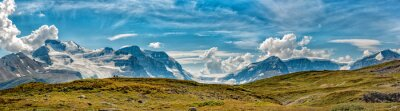 Wall mural Icefield Park Glacier view panorama