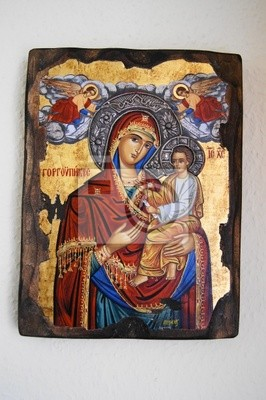 Wall mural icon