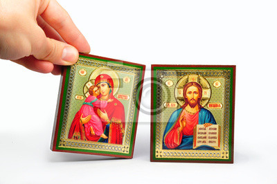 Wall mural icons