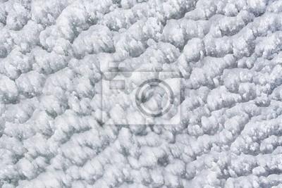 icy snow