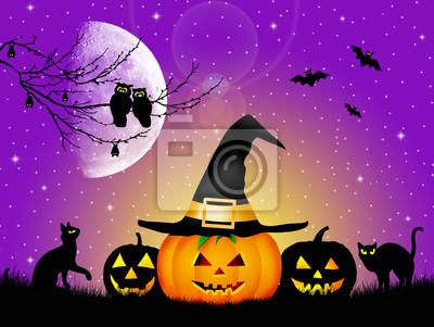 Illustration of Halloween
