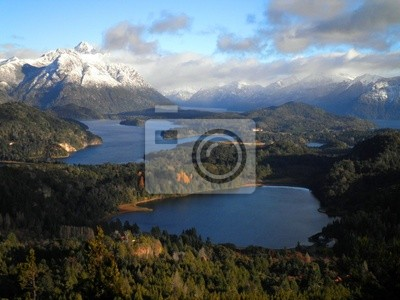 Wall mural Incredible view of Patagonia