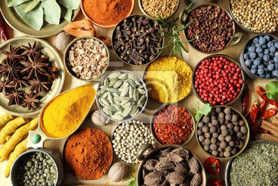 Indian spices.