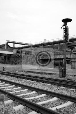 Wall mural industrie