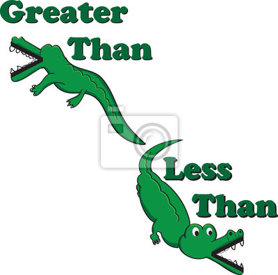 inequality alligators