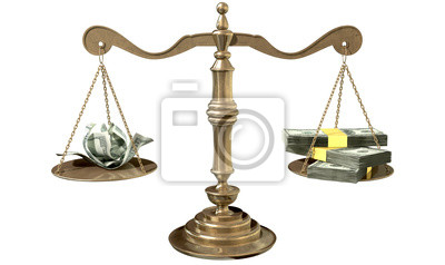 Inequality Scales Of Justice Income Gap USA