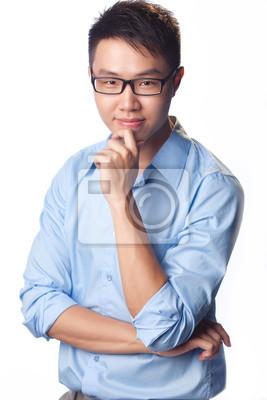 Intellectual man