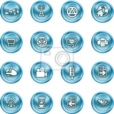 Internet And Computing Media Icons