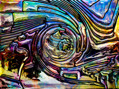 Iridescent Glass