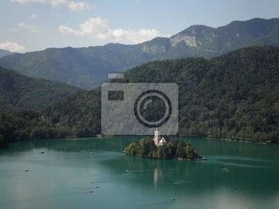 Island Lake Bled Slovenia