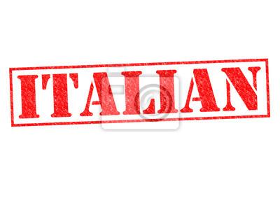 Wall mural ITALIAN