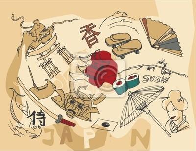 japanese doodles