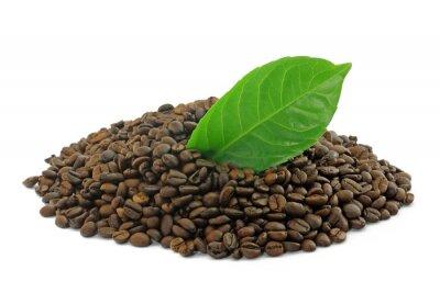 kaffee mit blatt