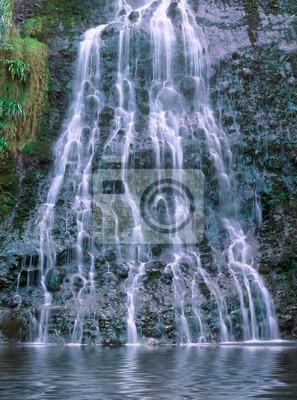Karekare falls, North Island, New Zealand