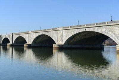Wall mural Key Bridge in Washington DC