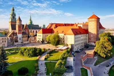 Wall mural Krakow - Wawel castle at day