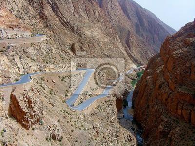 kręta droga Maroko