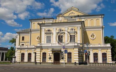 Kupala theater building in Minsk