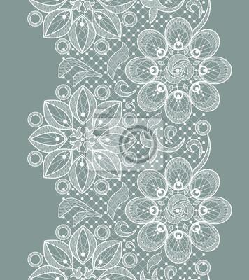 Wall mural Lace Seamless Pattern