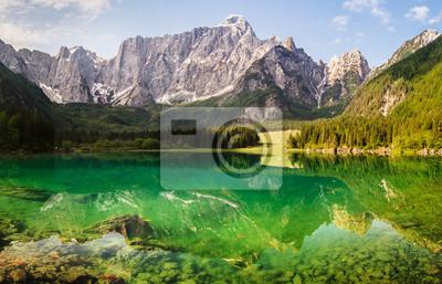 Laghi di Fusine-alpine mirror