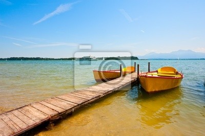 Wall mural Lake  Chiemsee