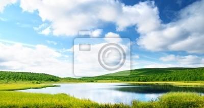lake in north mountain