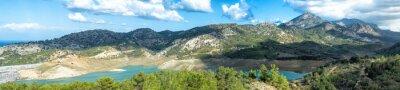 Wall mural Lakeside panorama