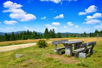 Landscape in the national park Bayerischer wald. Germany.