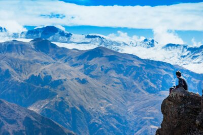 Wall mural landscape Peru