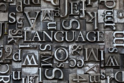 Wall mural language
