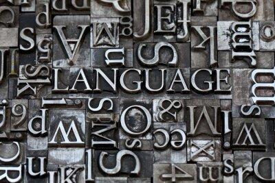 Wall mural language