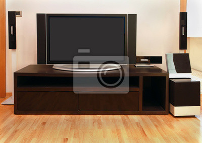 Wall mural Large TV