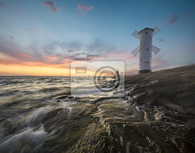Latarnia morska Stawa Młyny,Świnoujście,Polska