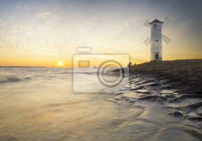 """Latarnia morska """"Stawa Młyny"""",Świnoujście,Polska"""